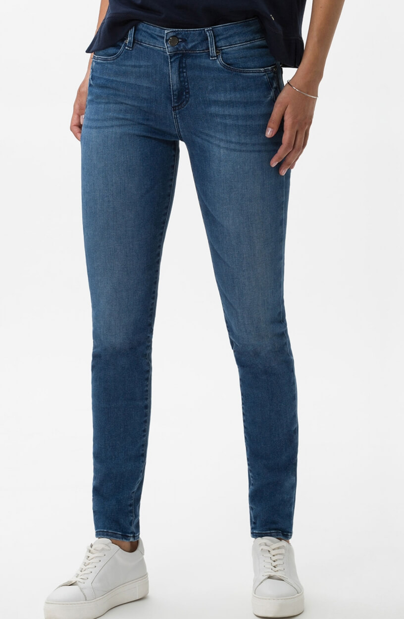 Brax Dames Ana jeans Blauw