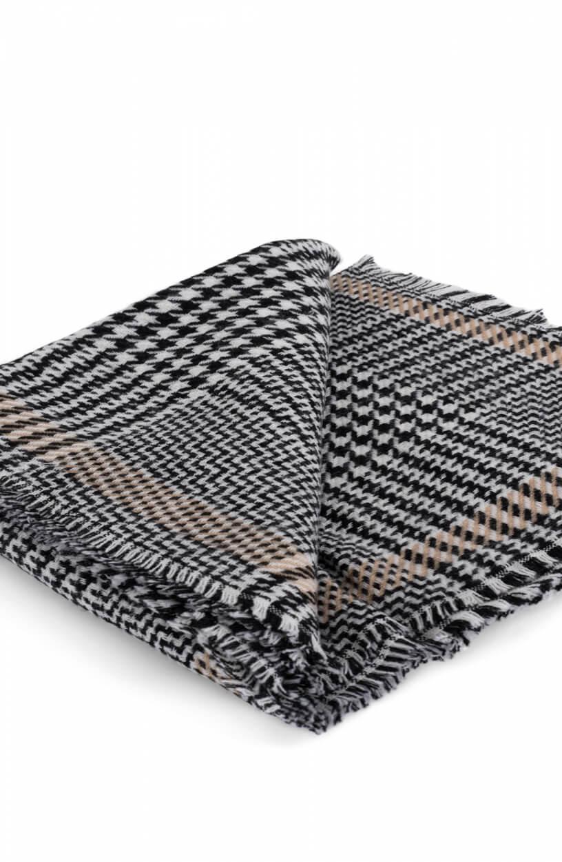 Codello Dames Night Queen sjaal Zwart
