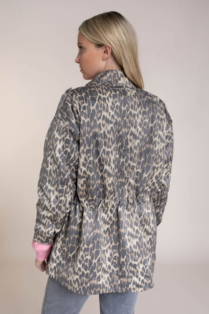 Co Couture Dames Felicia animal jacket Bruin