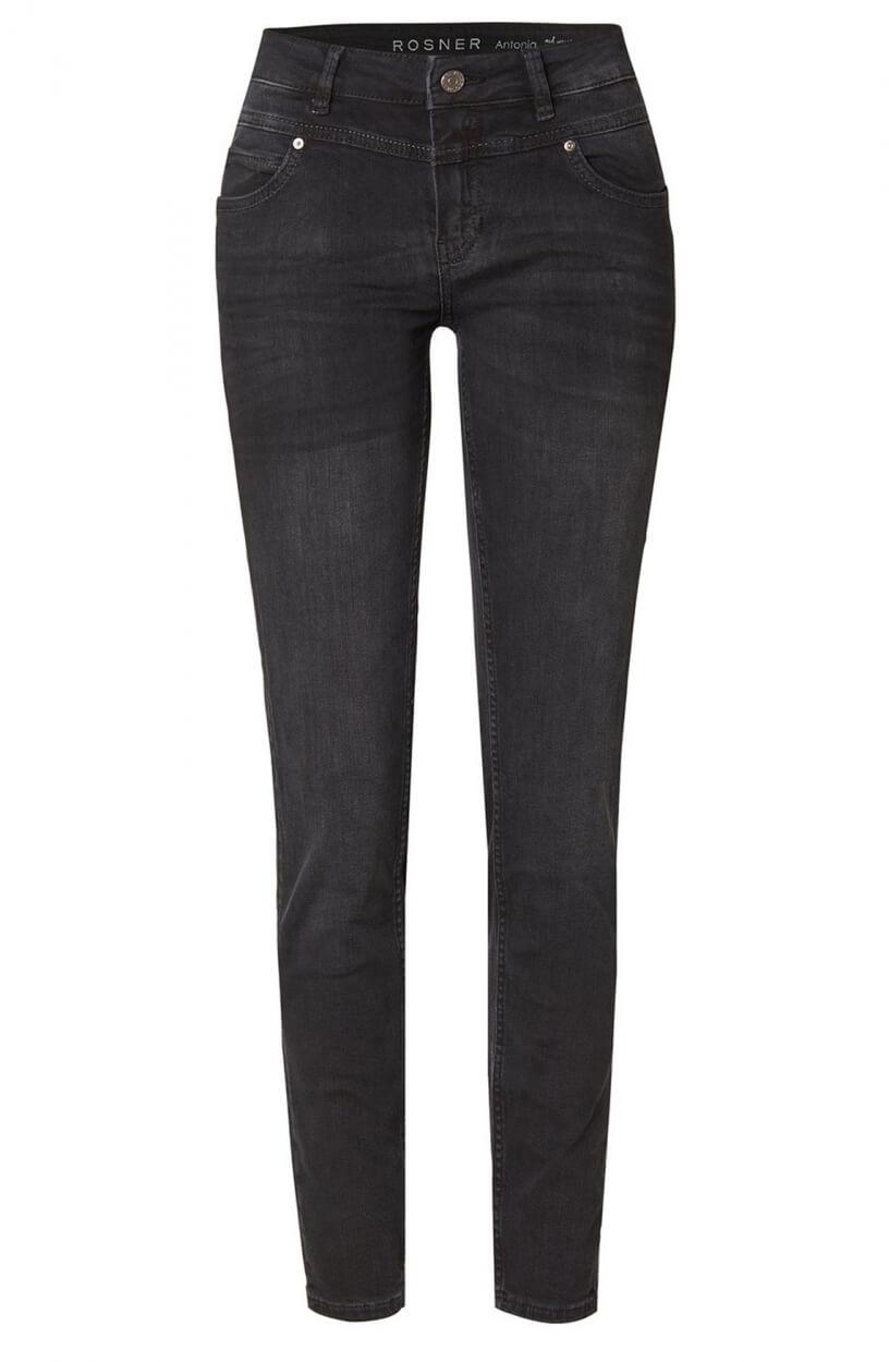 Rosner Dames L30 Antonia jeans Zwart