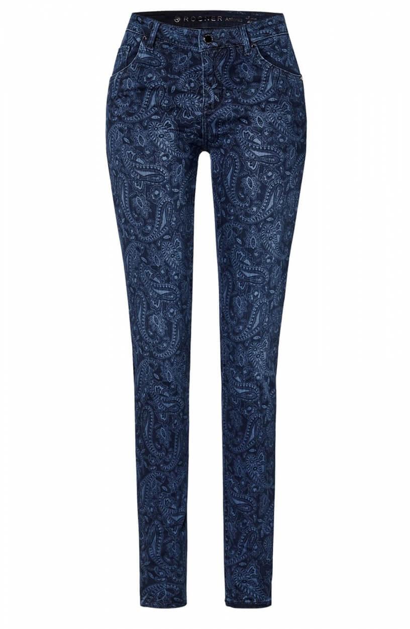 Rosner Dames L32 Antonia jeans Blauw