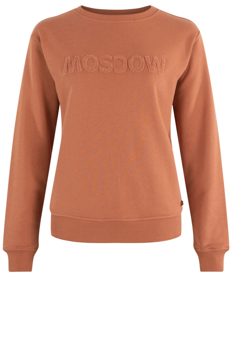 Moscow Dames Sweater Star Roze