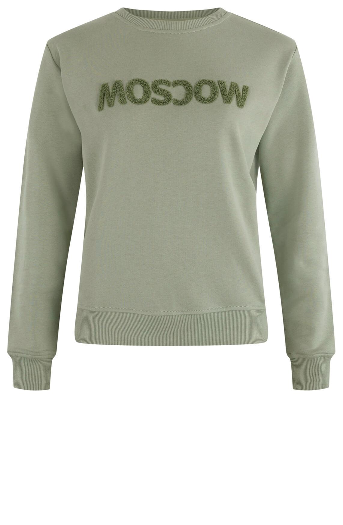 Moscow Dames Sweater Star Groen