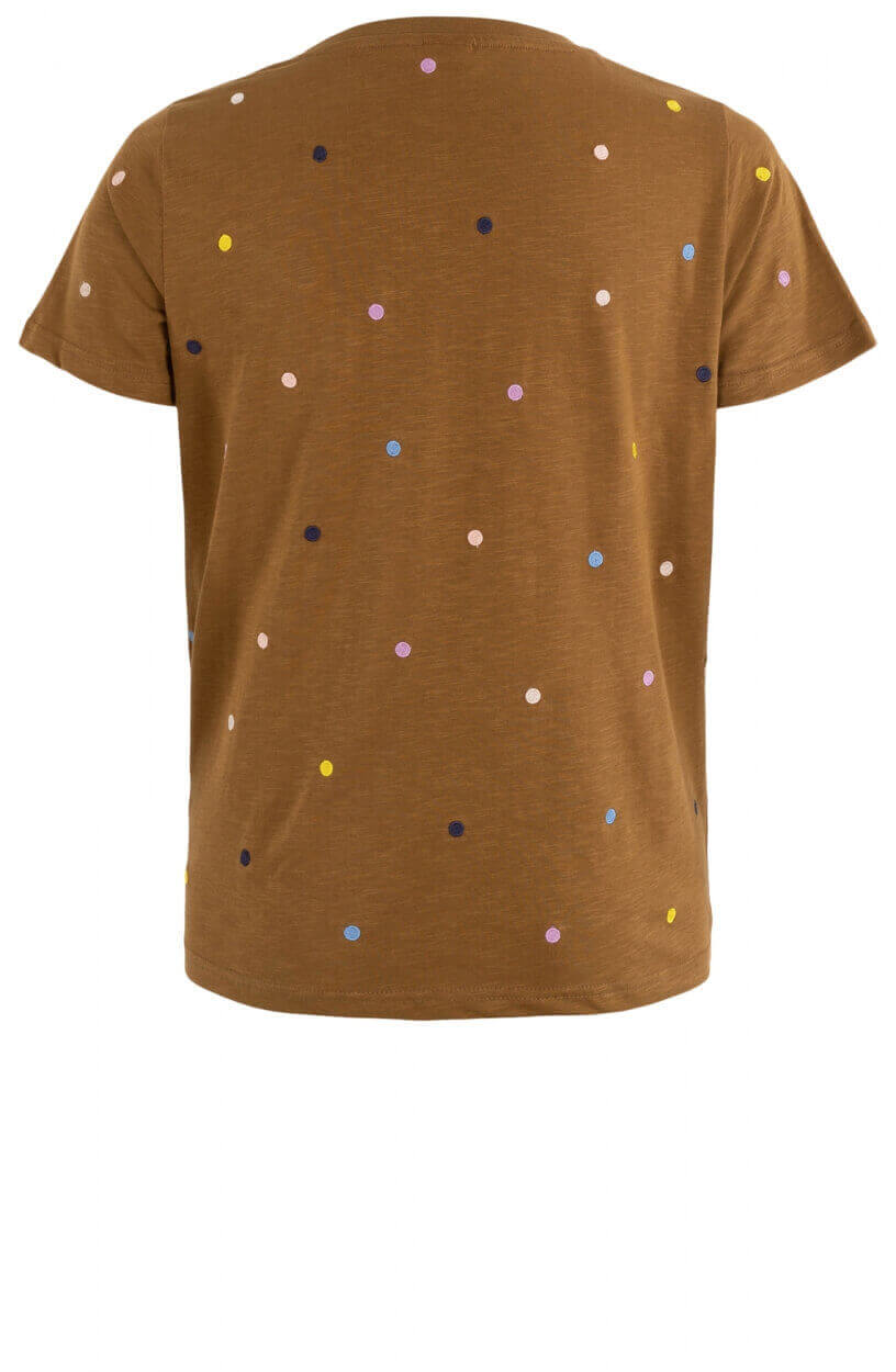 Nümph Dames Nucruz shirt Bruin