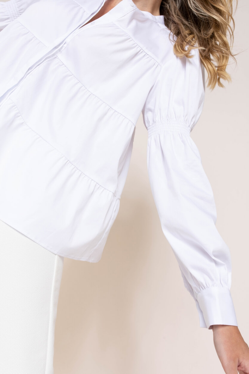 Levete Room Dames Isla blouse Wit