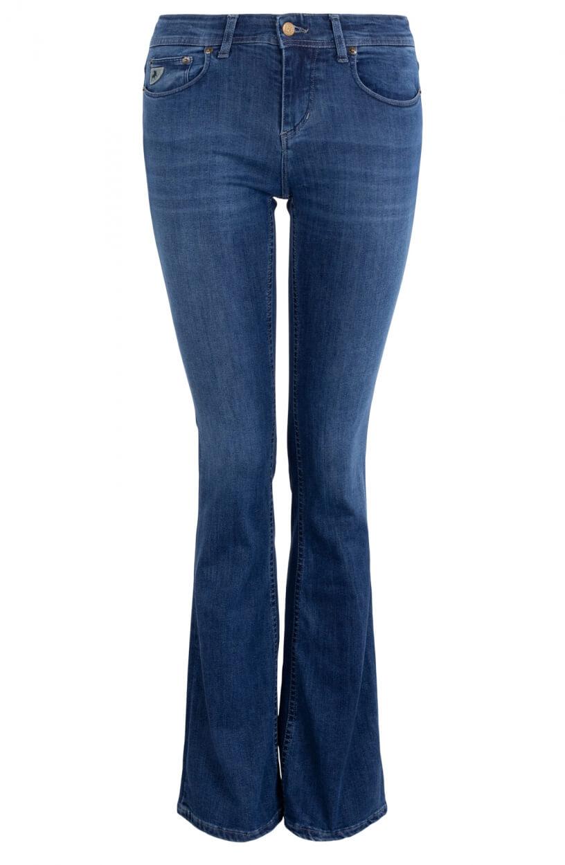 Lois Dames L34 Melrose jeans Blauw