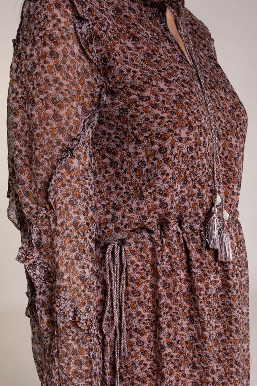 Moliin Copenhagen Dames Isabella jurk Roze
