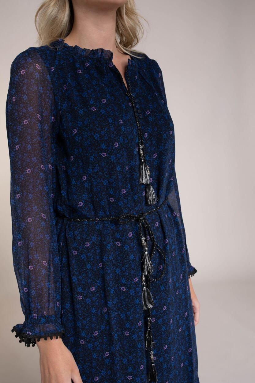 Moliin Copenhagen Dames Dina jurk Blauw