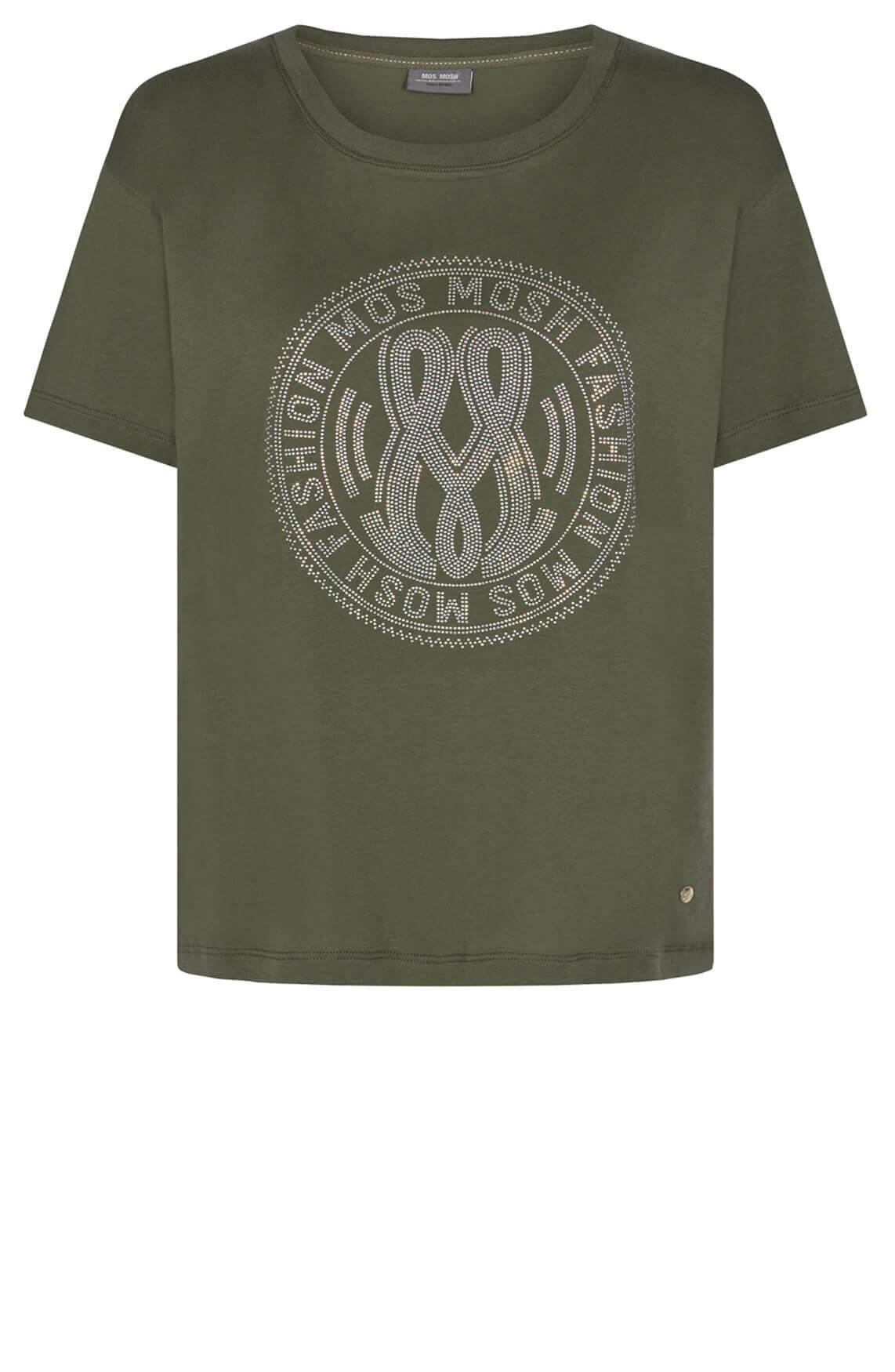 Mos Mosh Dames Leah shirt Groen