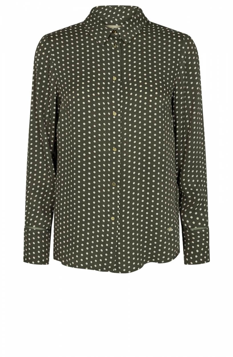 Mos Mosh Dames Jodie blouse Groen