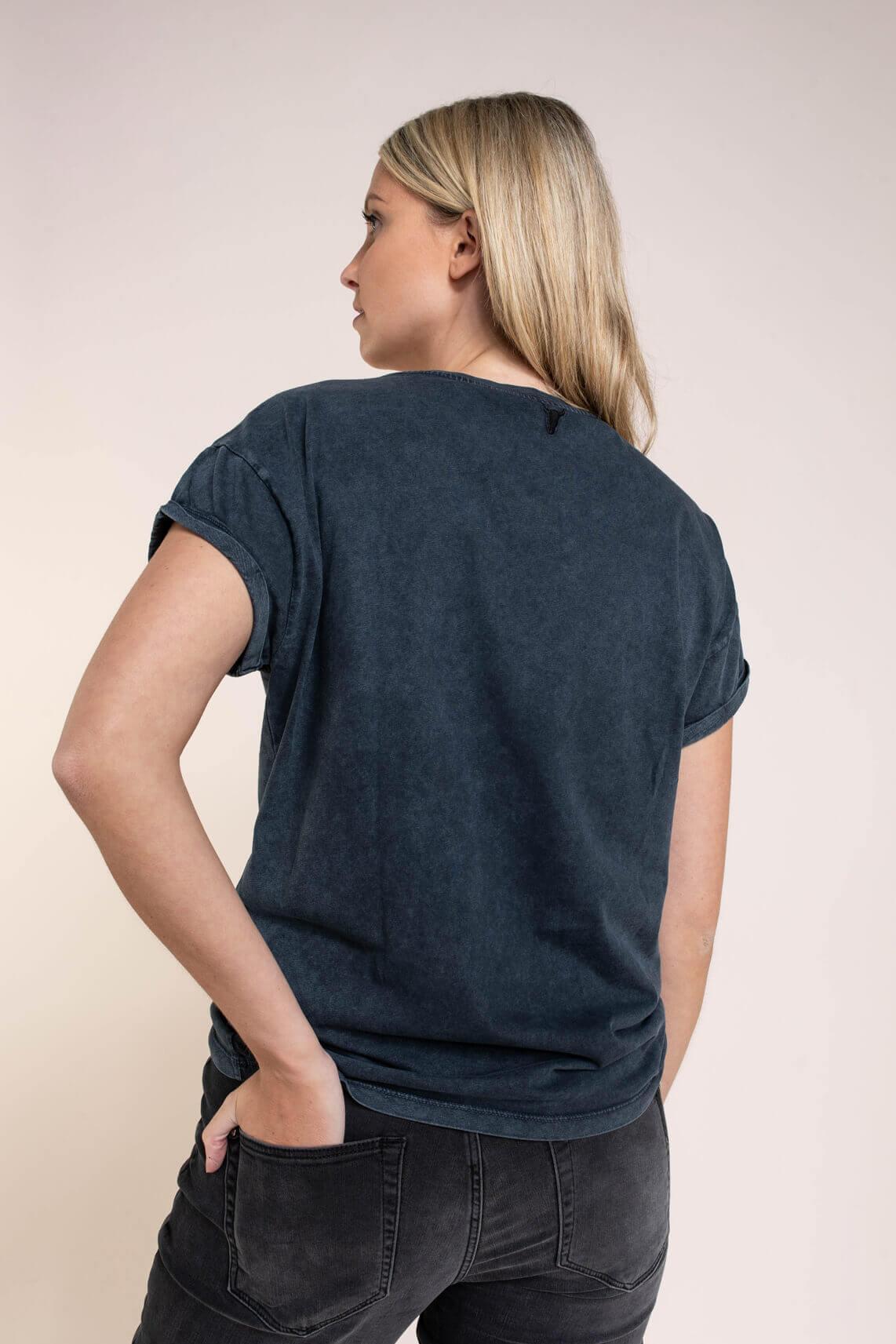 Alix The Label Dames Boxy shirt Zwart