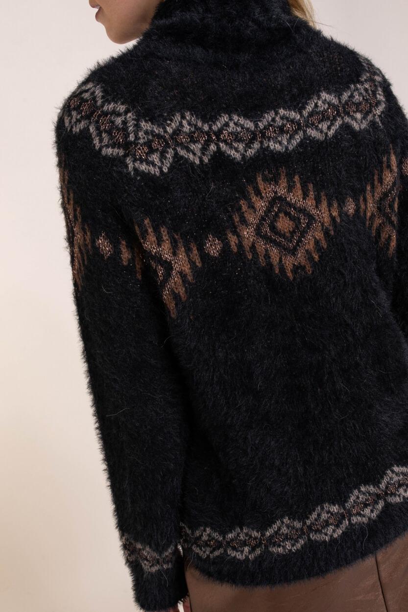 La Fee Maraboutee Dames Feliska trui Zwart