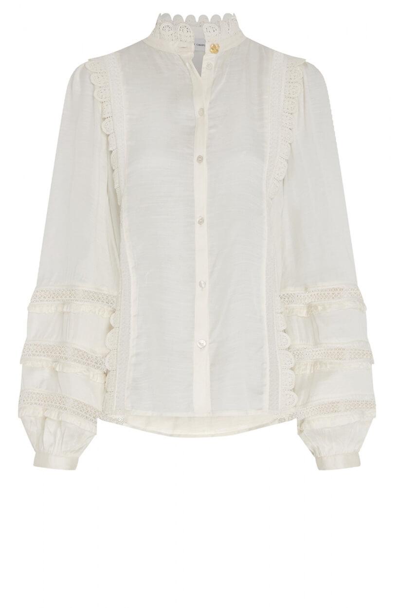 Fabienne Chapot Dames Amelie blouse Wit
