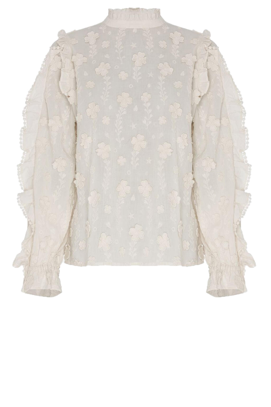 Fabienne Chapot Dames Josefin blouse Wit