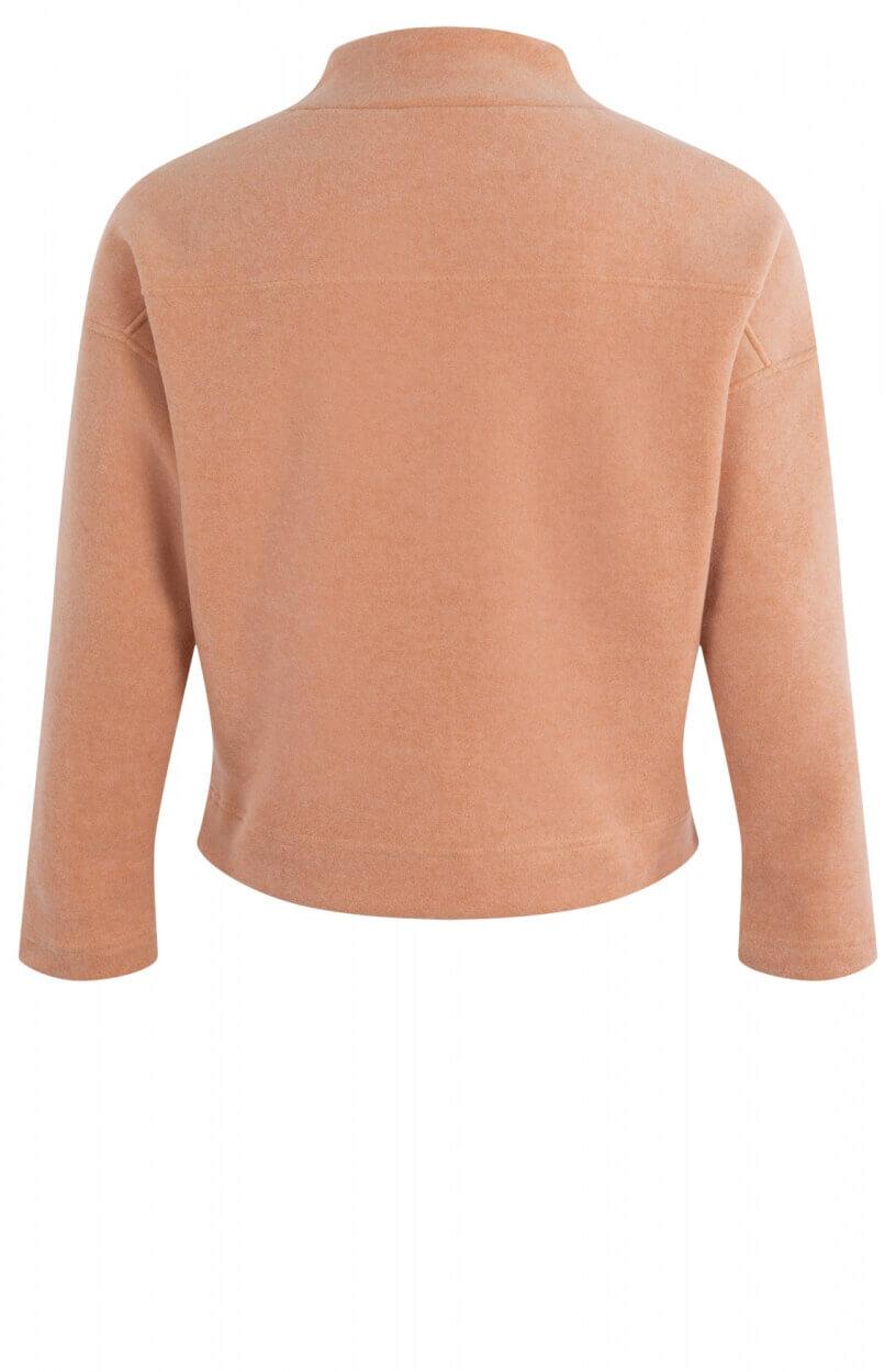 Anna Dames Sweater van babyfleece Roze