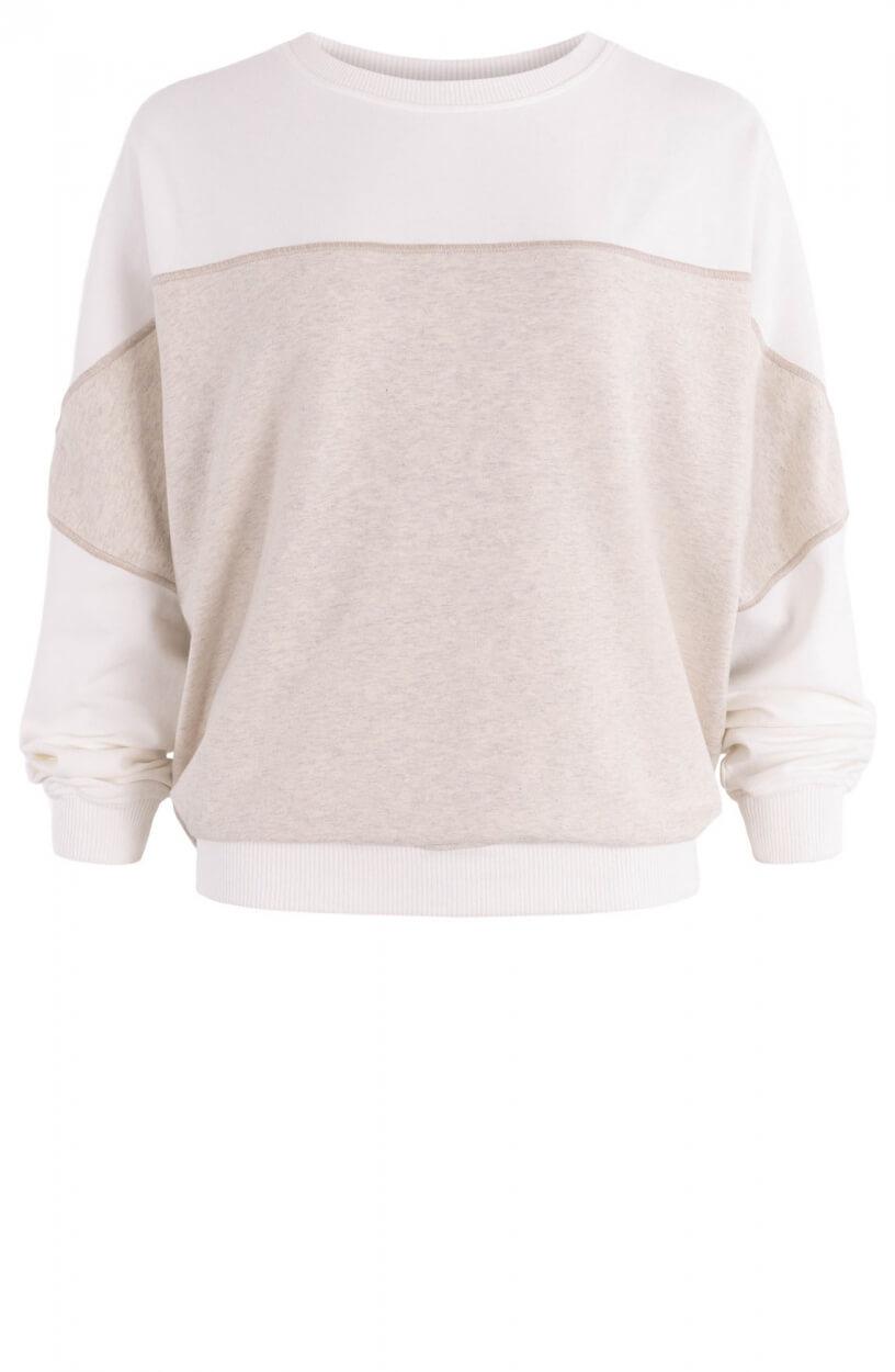 10 Days Dames Baseball sweater Grijs