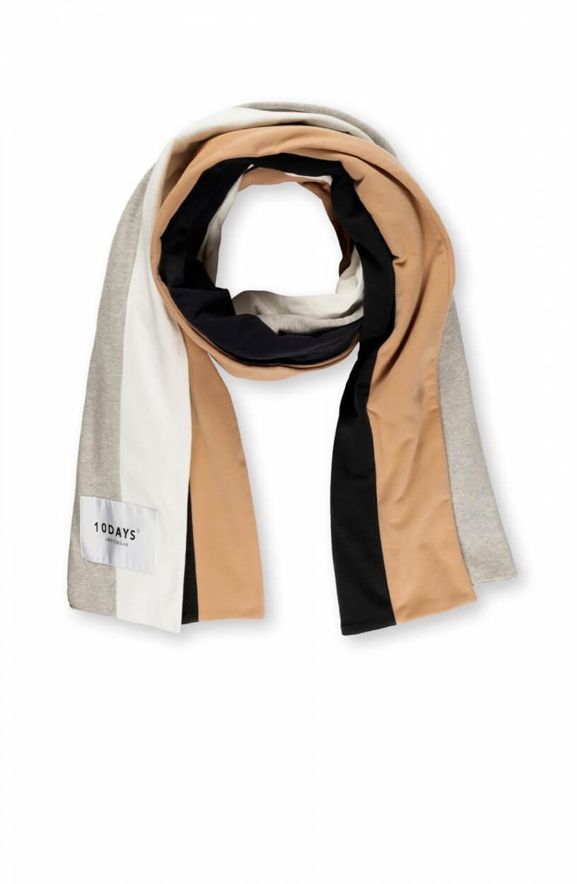 10 Days Dames College sjaal Bruin