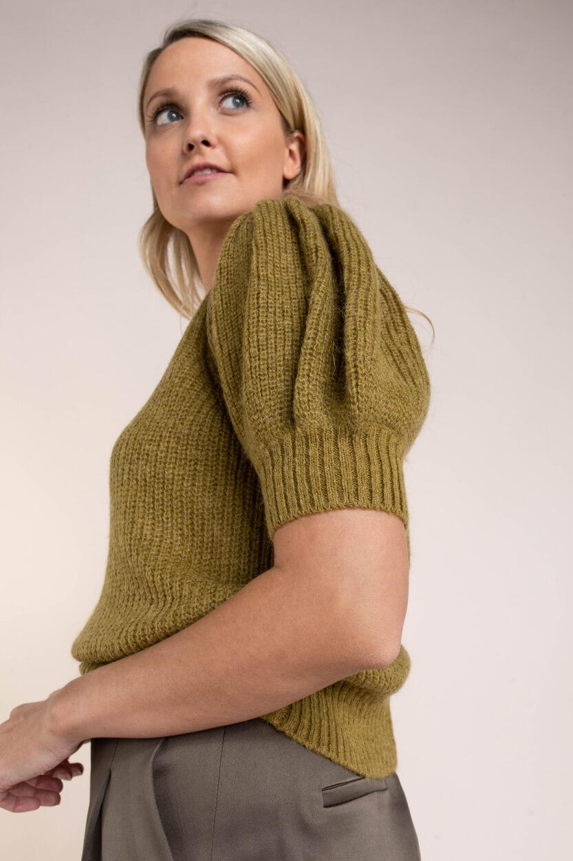 Copenhagen Muse Dames Diva pullover Groen