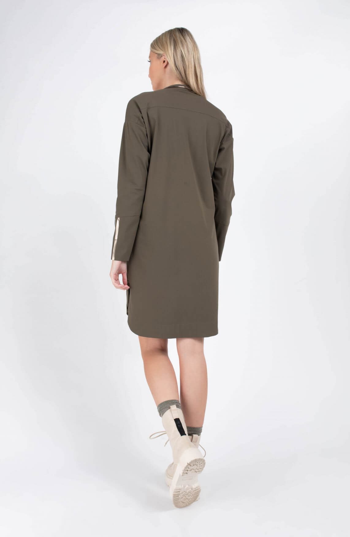 Jane Lushka Dames Amalia jurk Groen