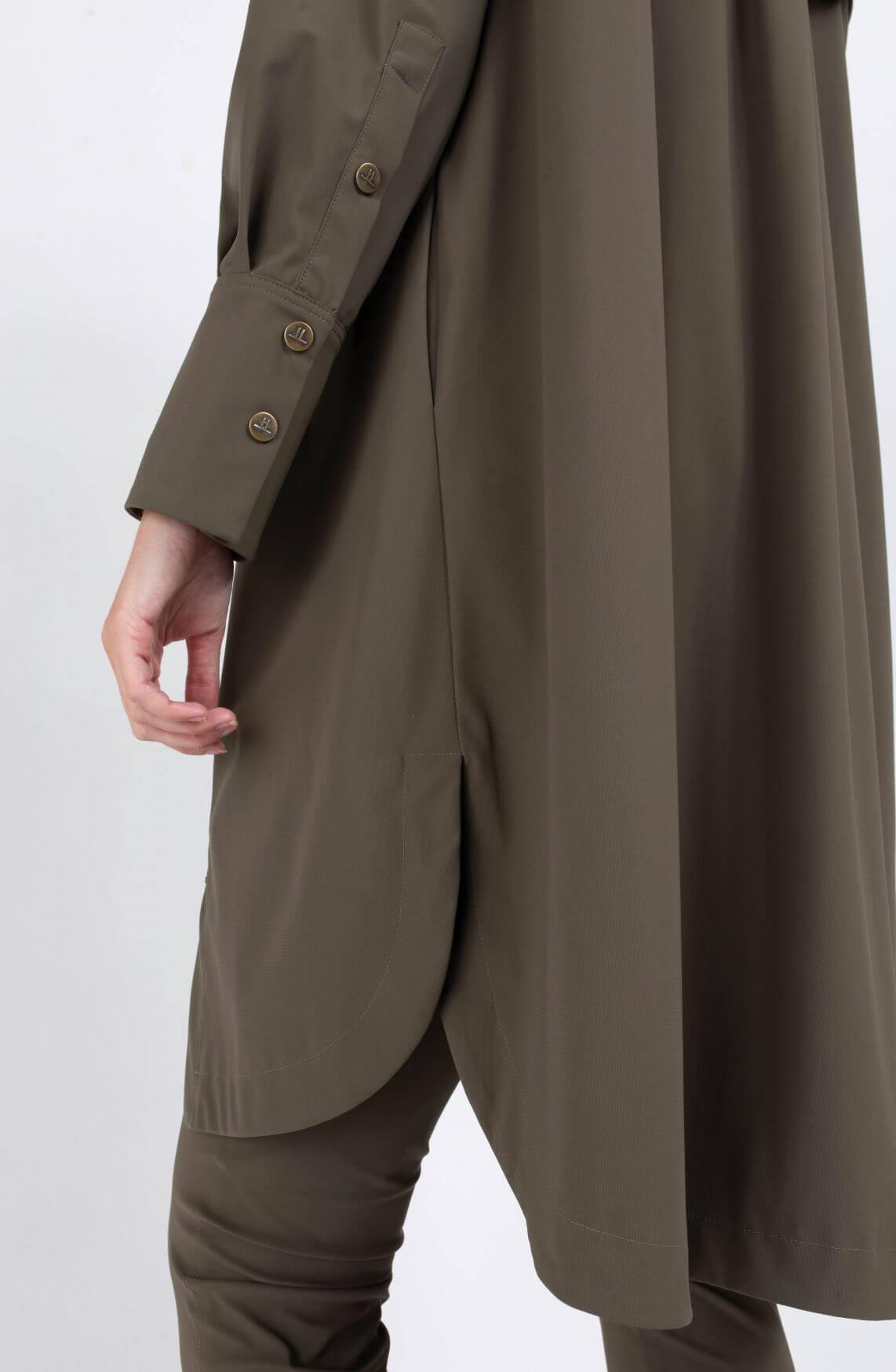 Jane Lushka Dames Shelly jurk Groen