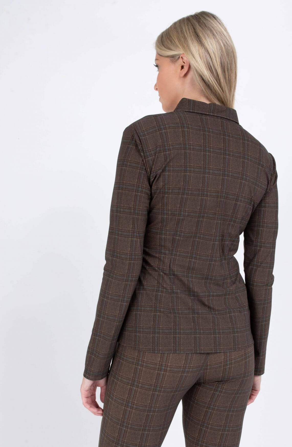 Jane Lushka Dames Kikkie blouse Groen