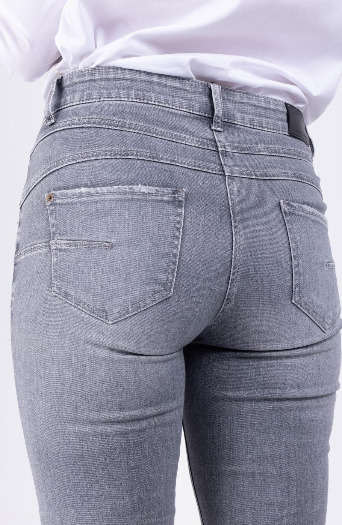 Cambio Dames Paris jeans Grijs