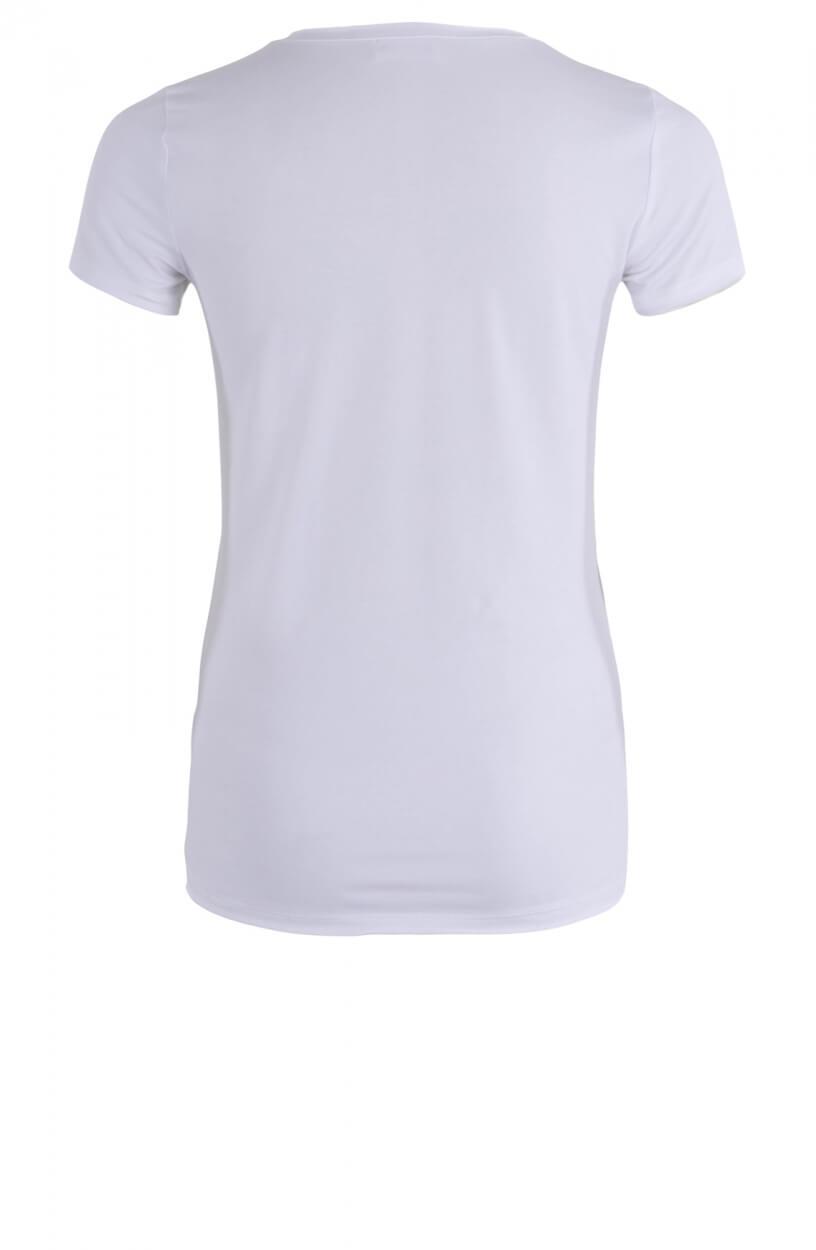 Jane Lushka Dames Shirt met tekst Wit