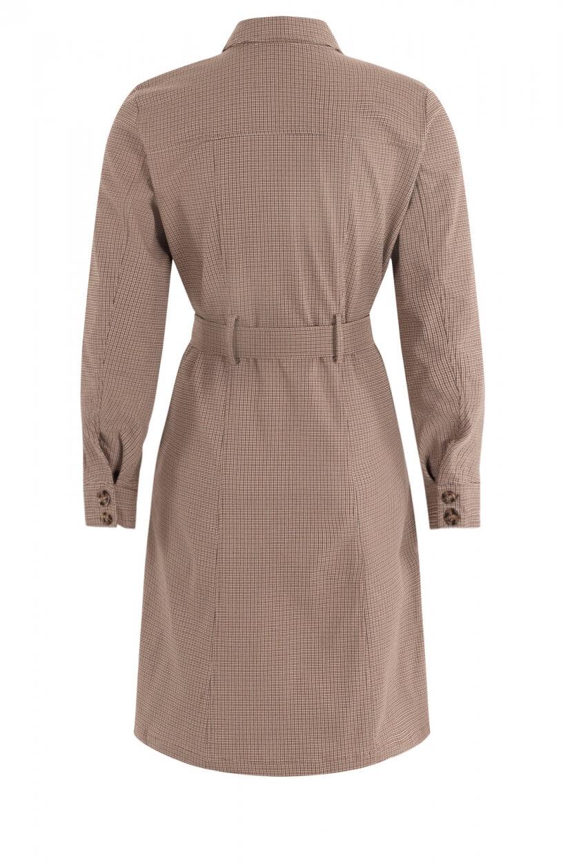 Nümph Dames Nuchase jurk Bruin