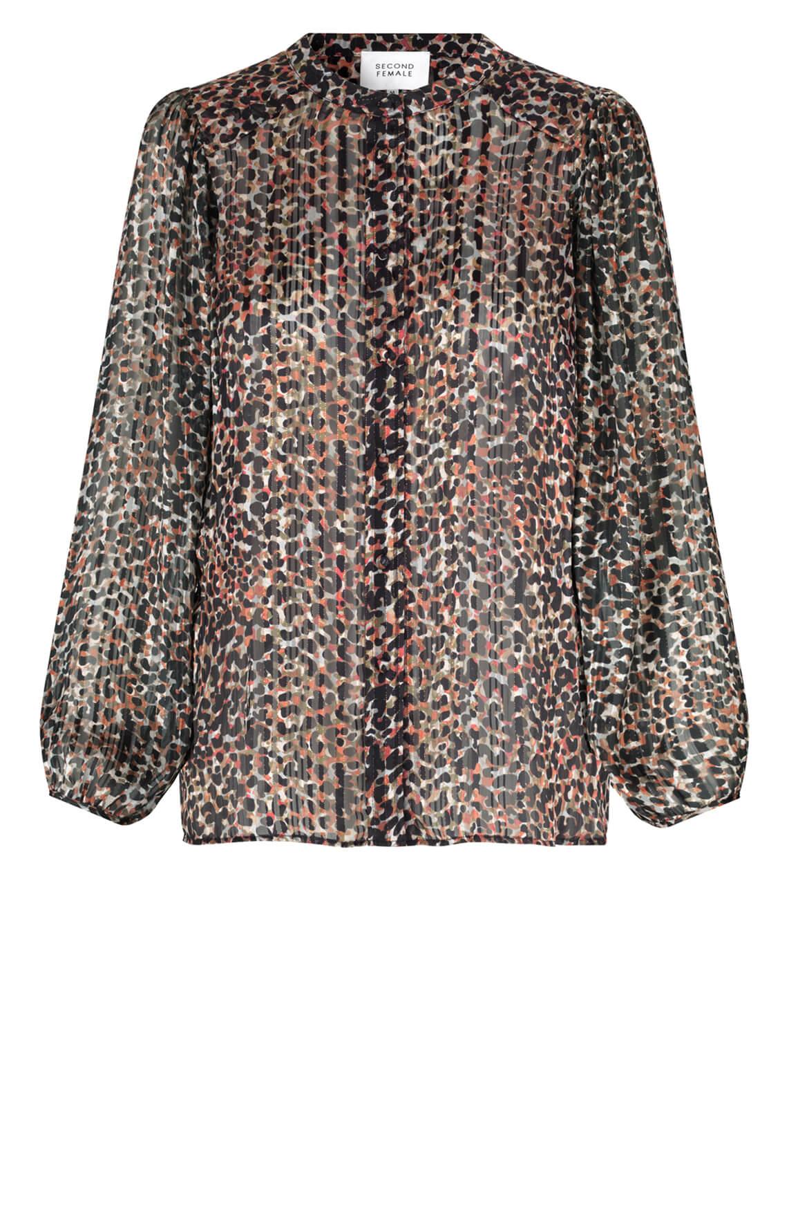 Second Female Dames Erna blouse Bruin