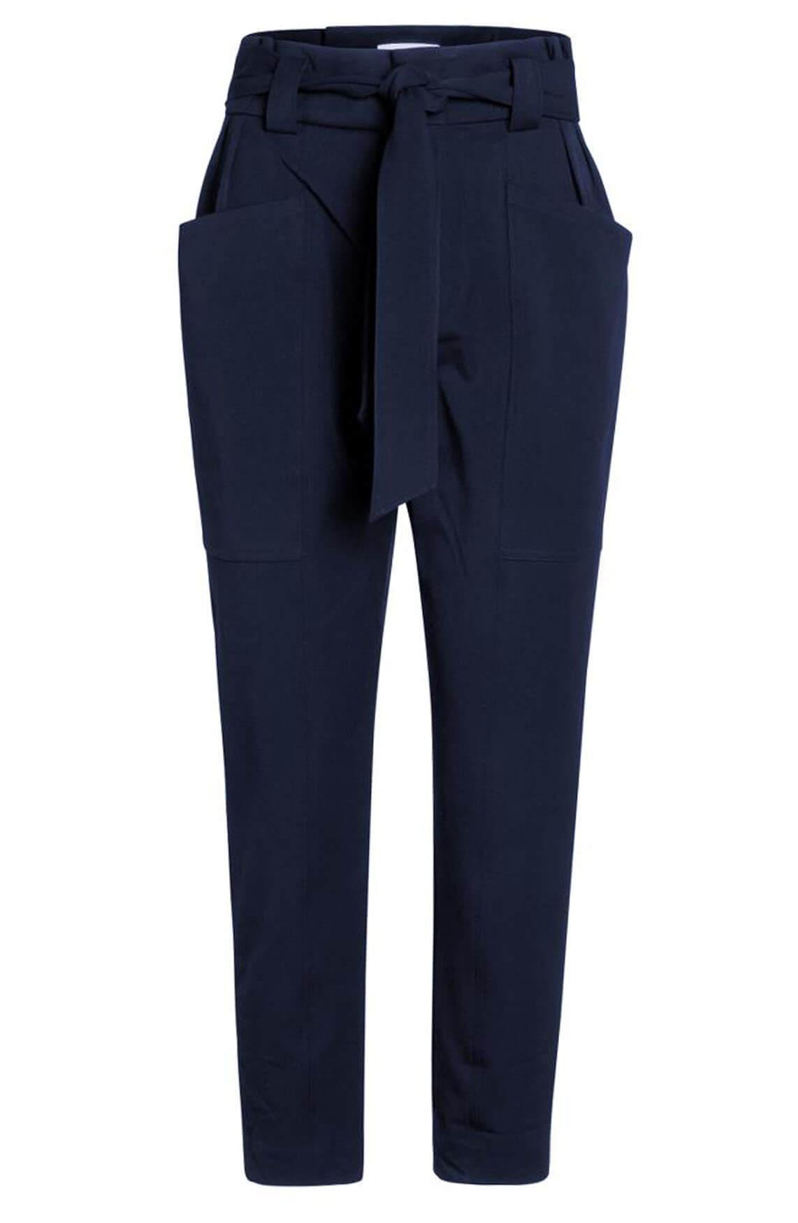 Co Couture Dames Miya Pocket broek Blauw