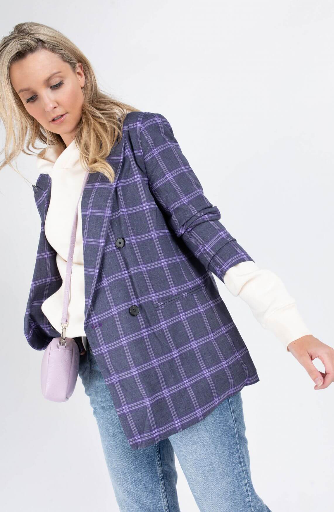 Co Couture Dames Delores blazer Paars