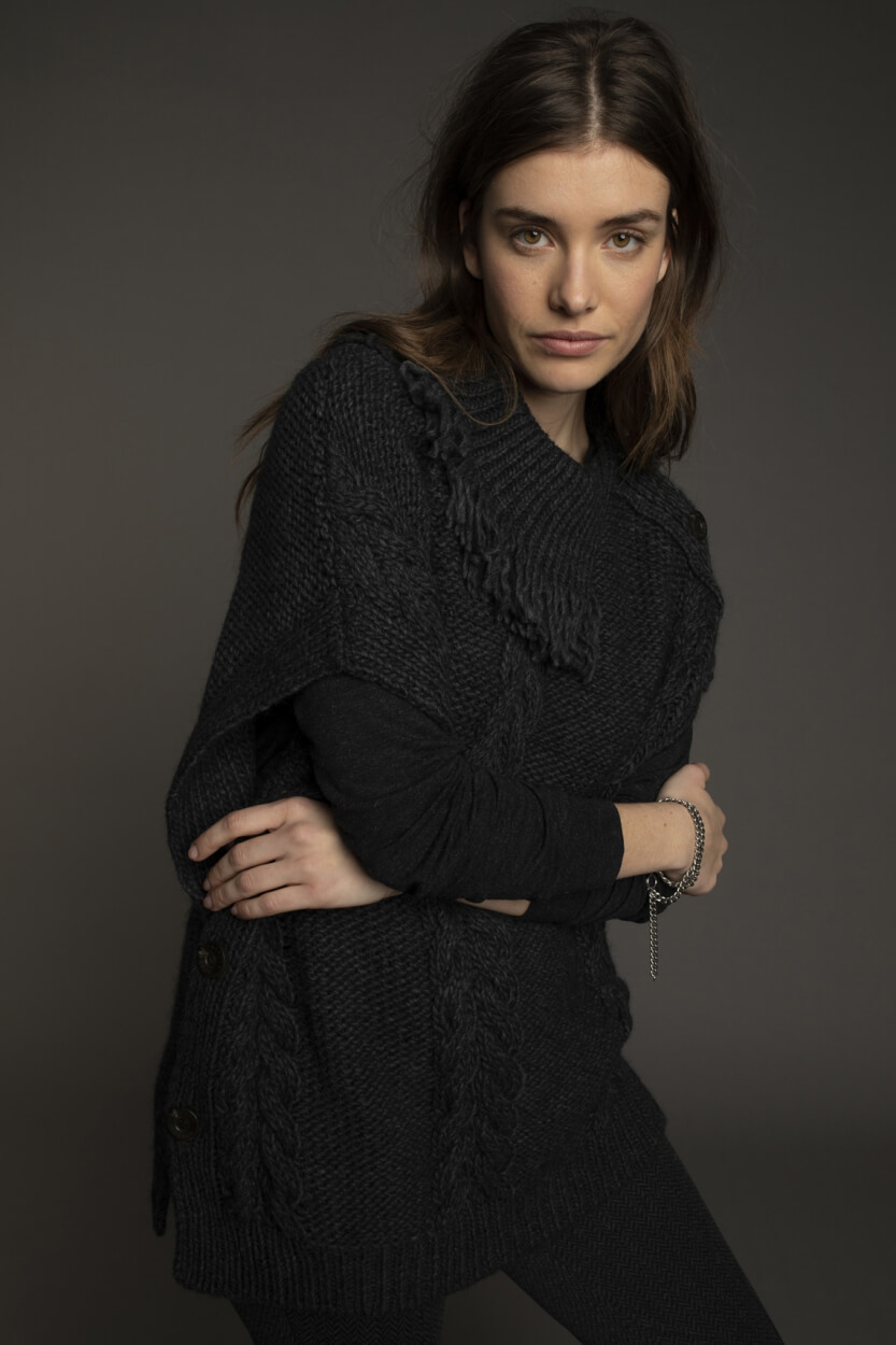 Moscow Dames Spencer Scarlett Grijs