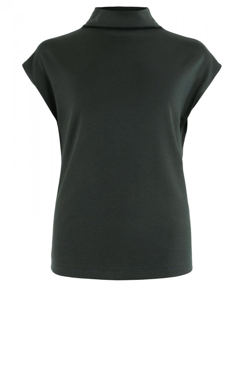 Anna Dames Oversized shirt met col Groen