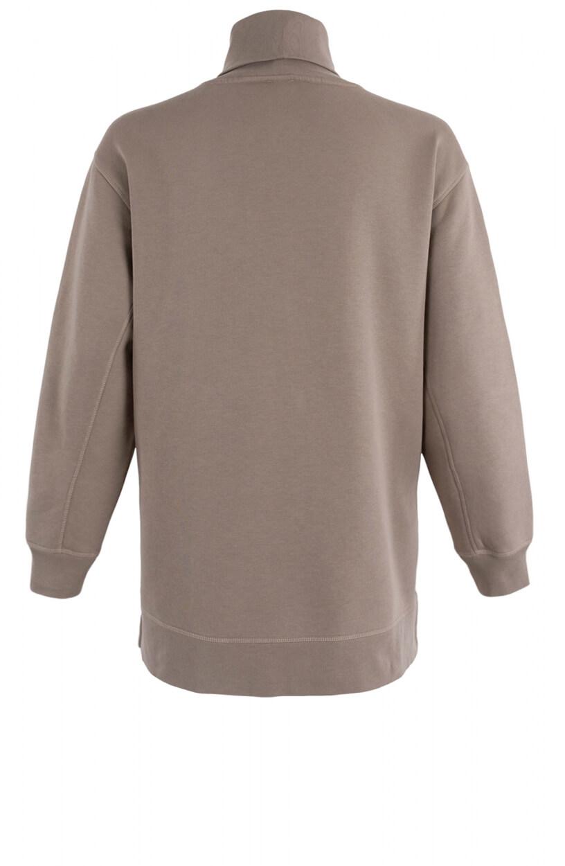 Closed Dames Oversized Sweater Bruin