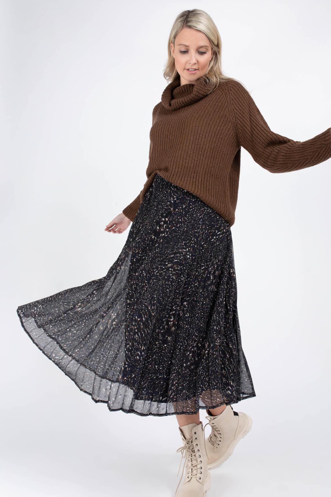 La Fee Maraboutee Dames Chana rok Zwart