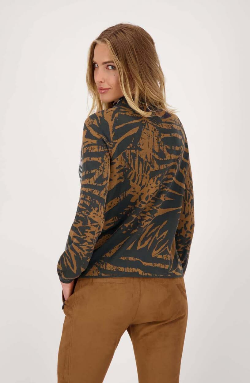 Monari Dames Pullover met turtleneck Zwart