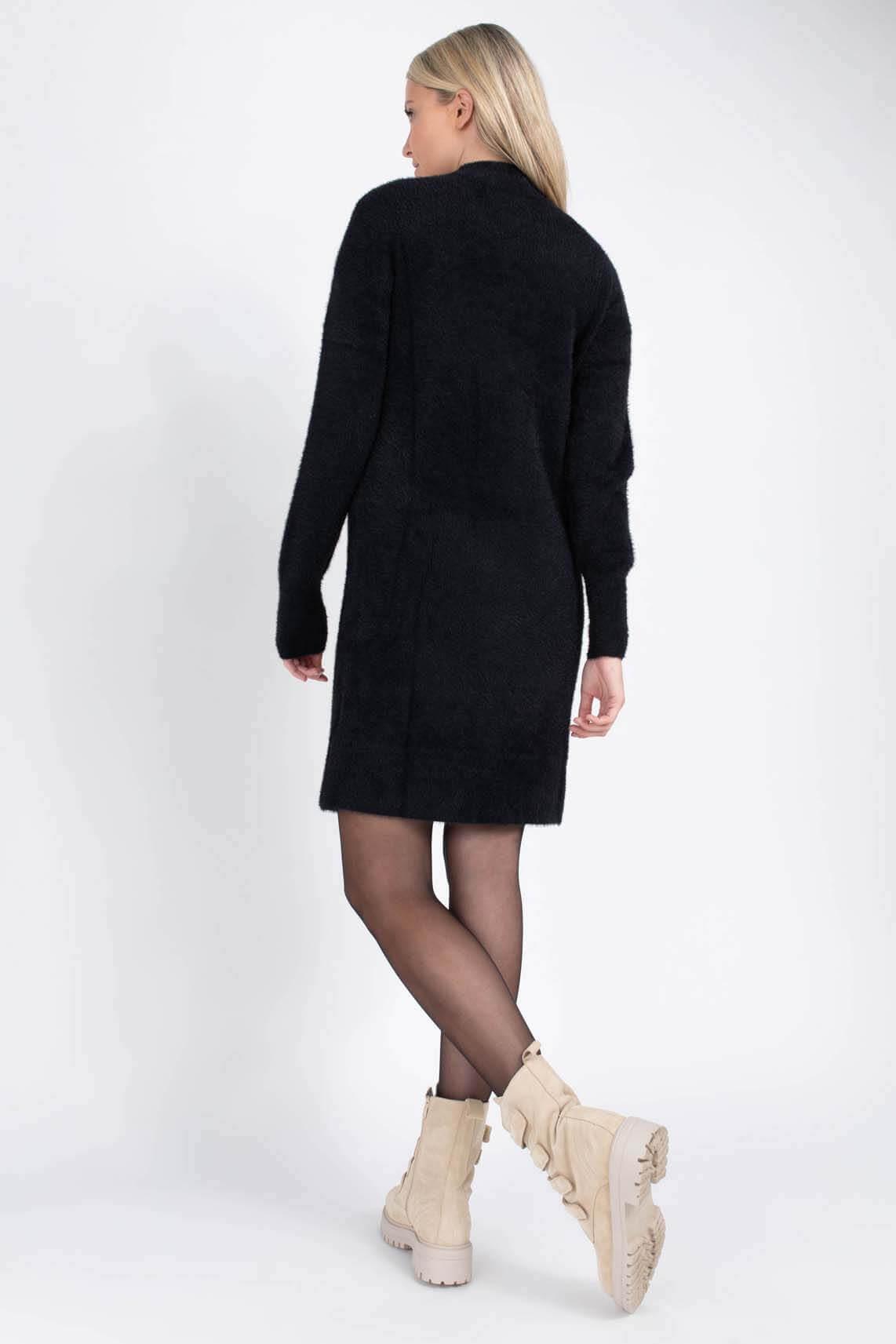 Calvin Klein Dames Chenille jurk Zwart