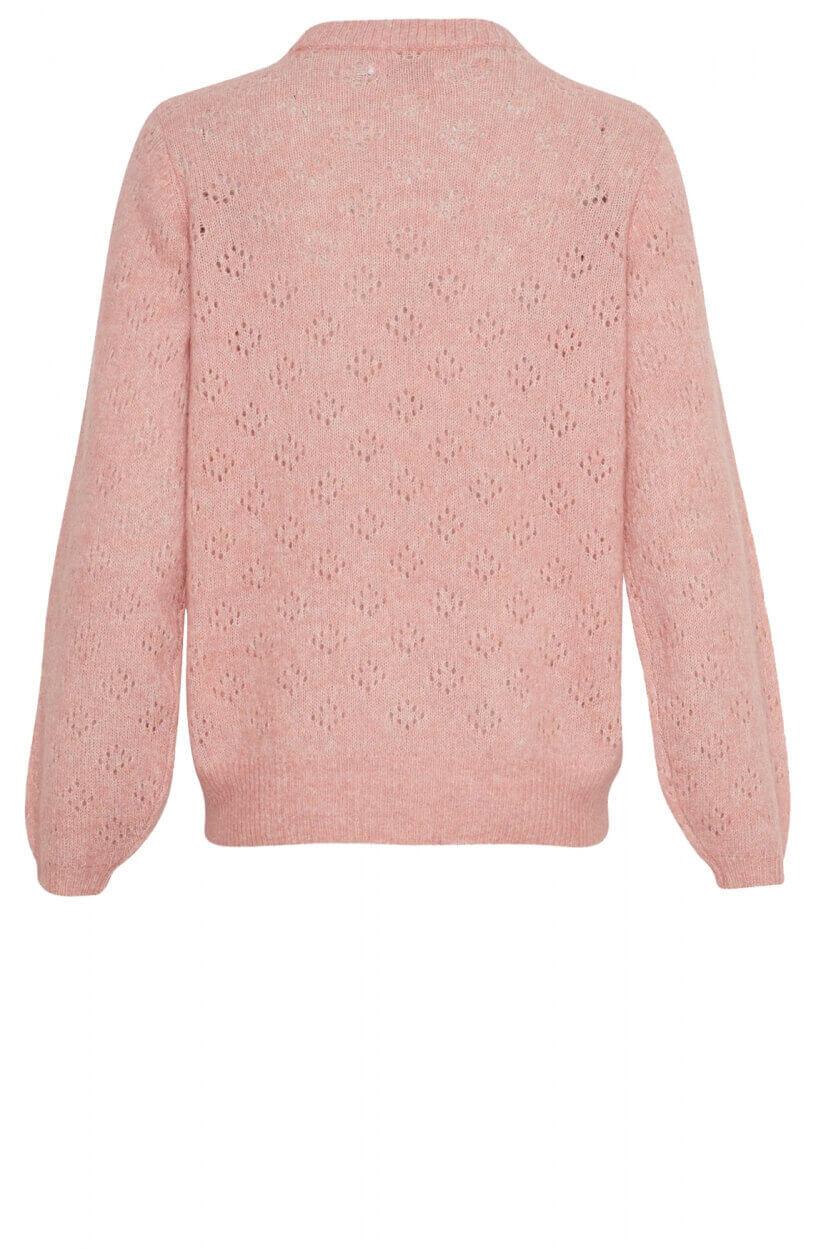 Moss Copenhagen Dames Soluna pullover Roze