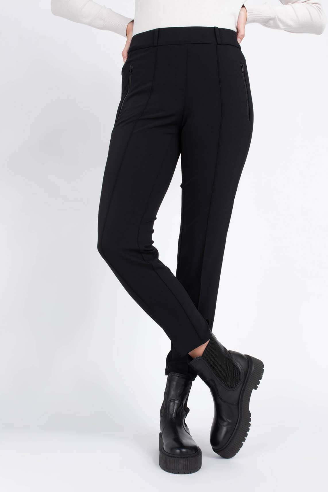 Cambio Dames Rarity pantalon Zwart