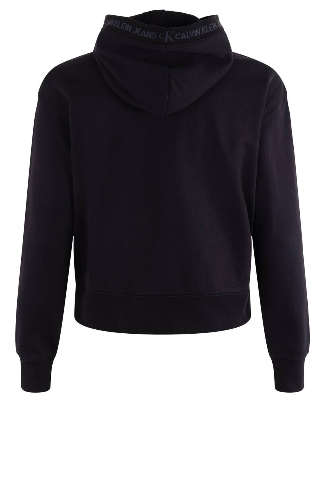 Calvin Klein Dames Hoodie met capuchon Zwart