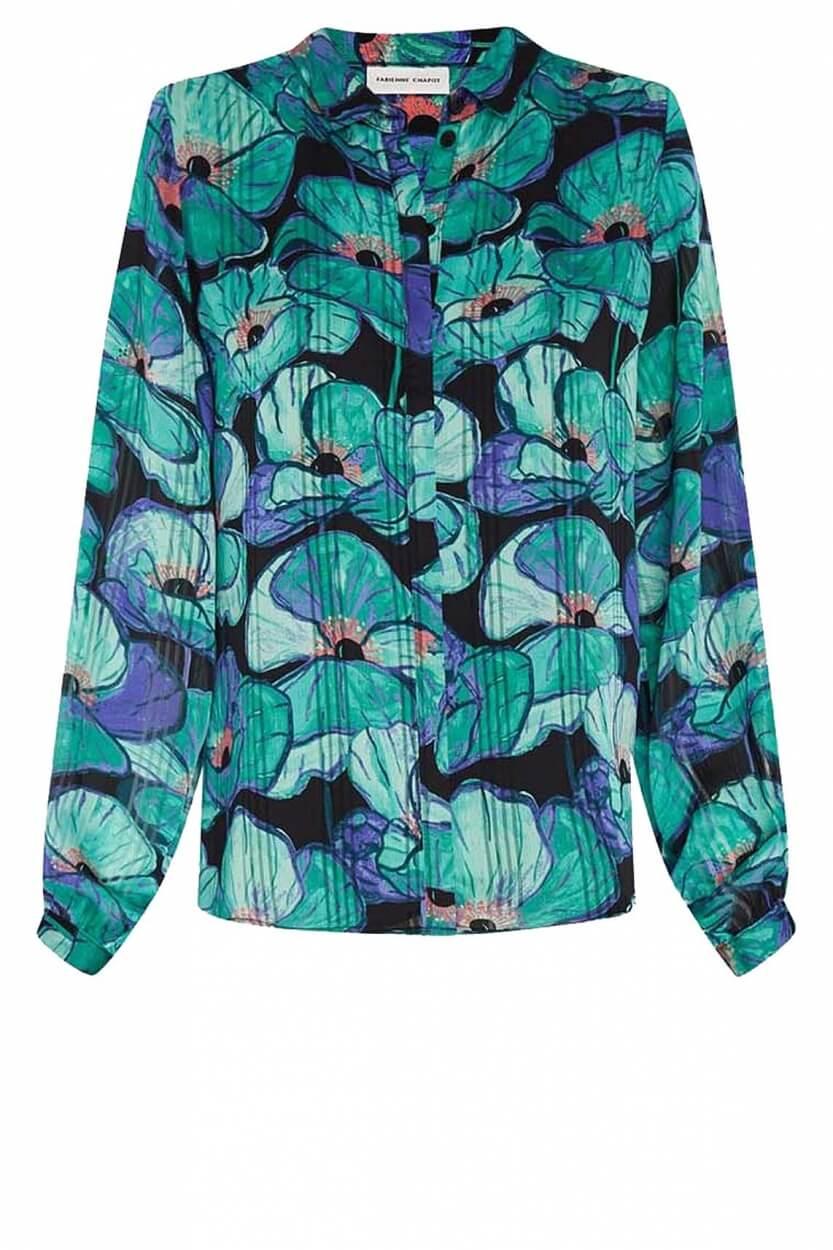 Fabienne Chapot Dames Frida blouse Groen