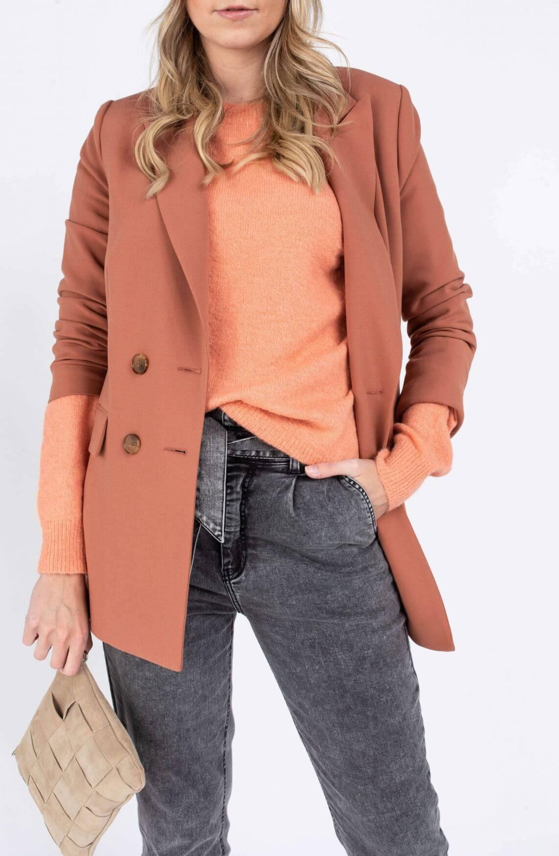 Moss Copenhagen Dames Femme pullover Roze