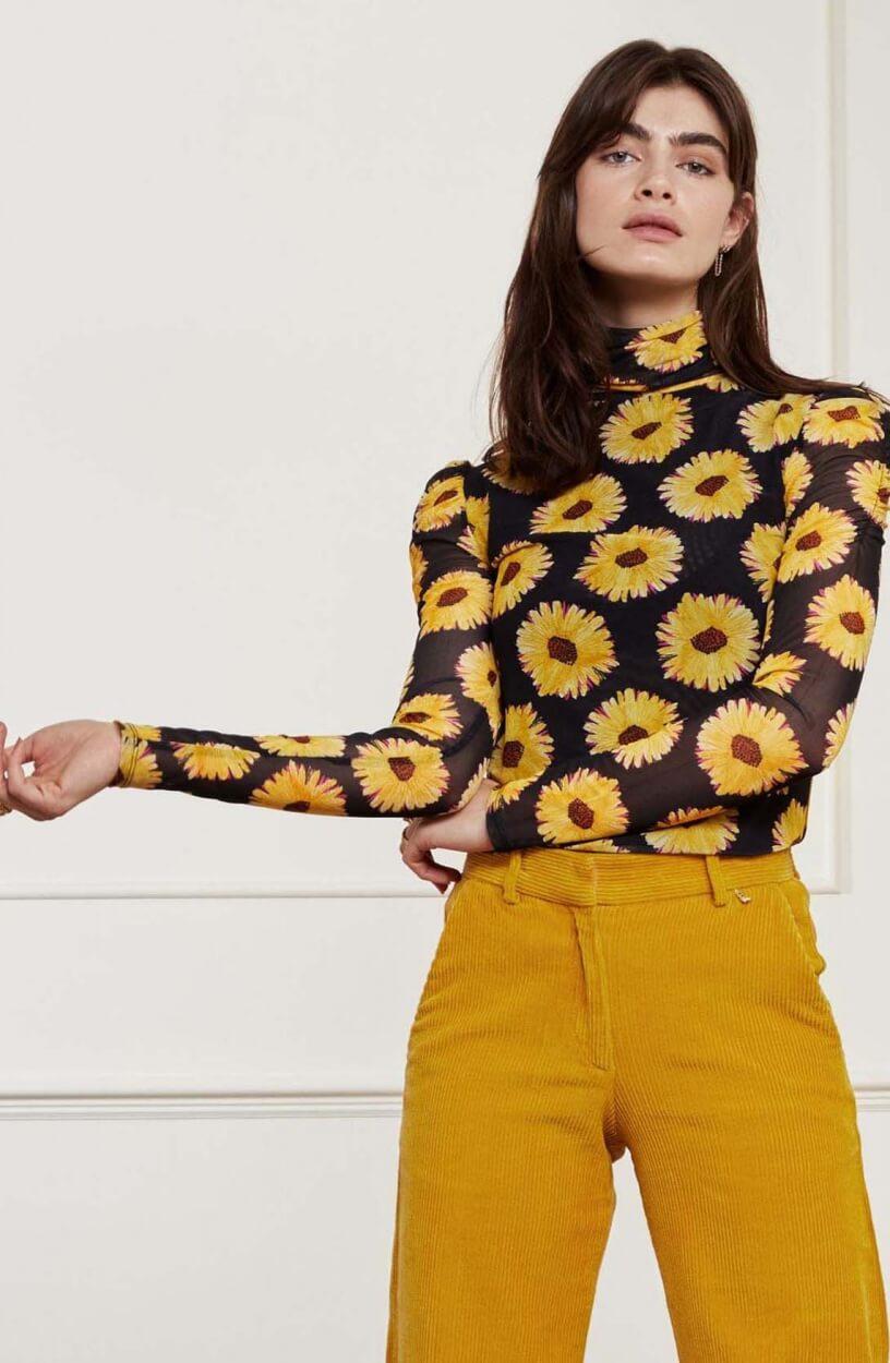 Fabienne Chapot Dames Jane shirt Zwart