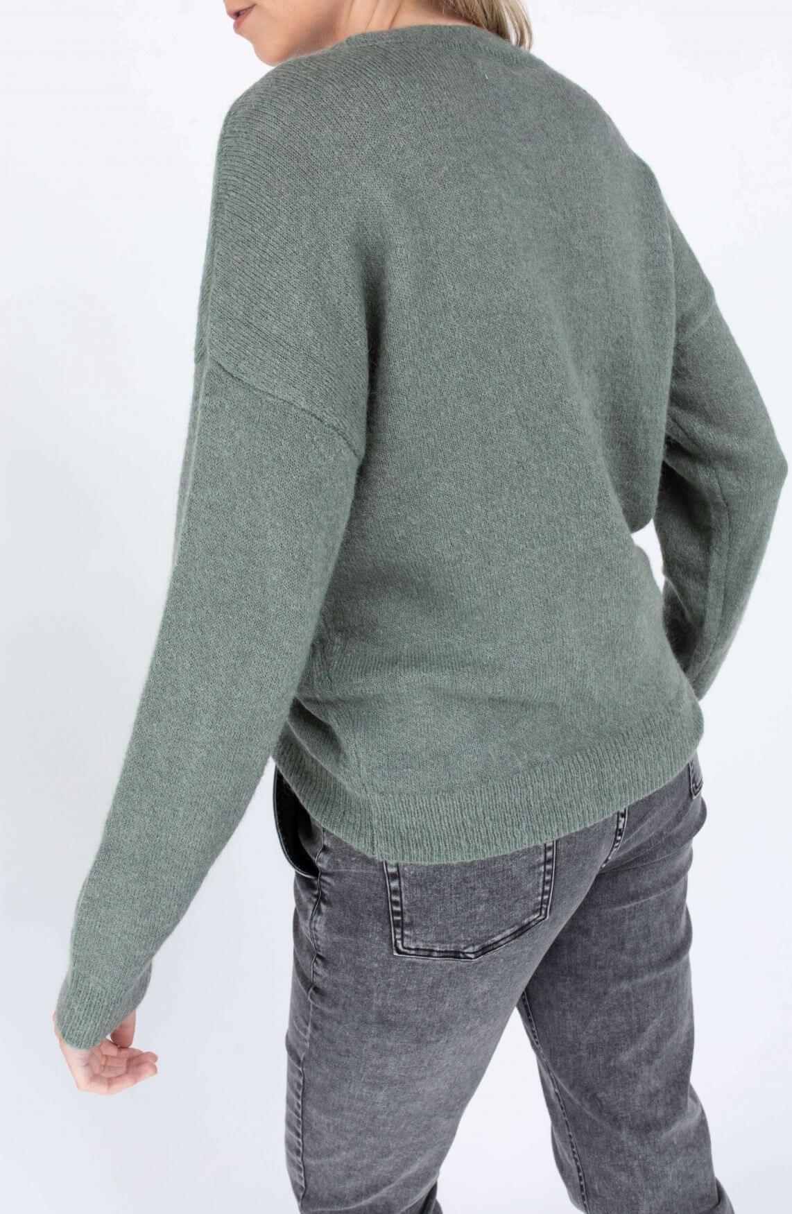 Moss Copenhagen Dames Femme pullover Groen