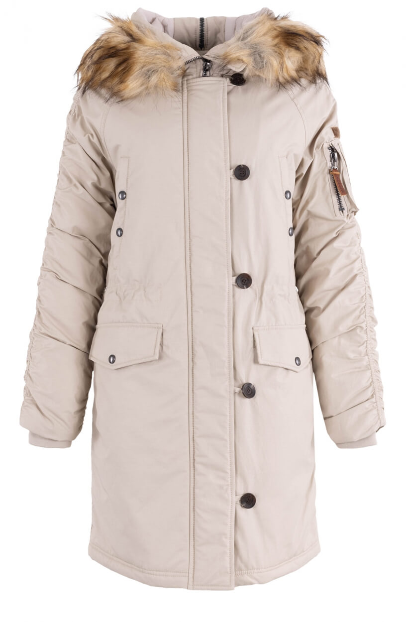 Moscow Dames Parka N3B Wit