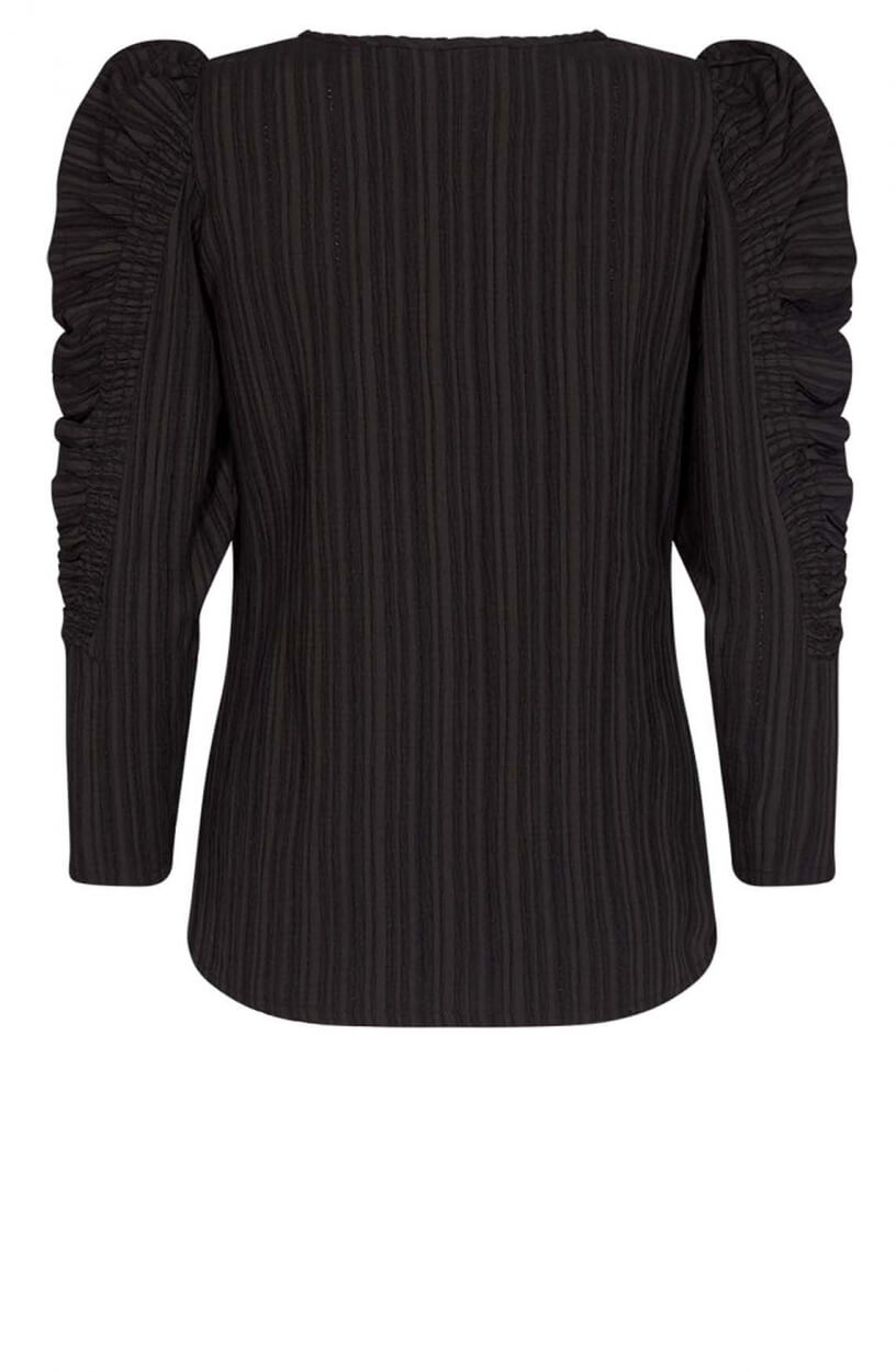 Copenhagen Muse Dames Smock blouse Zwart