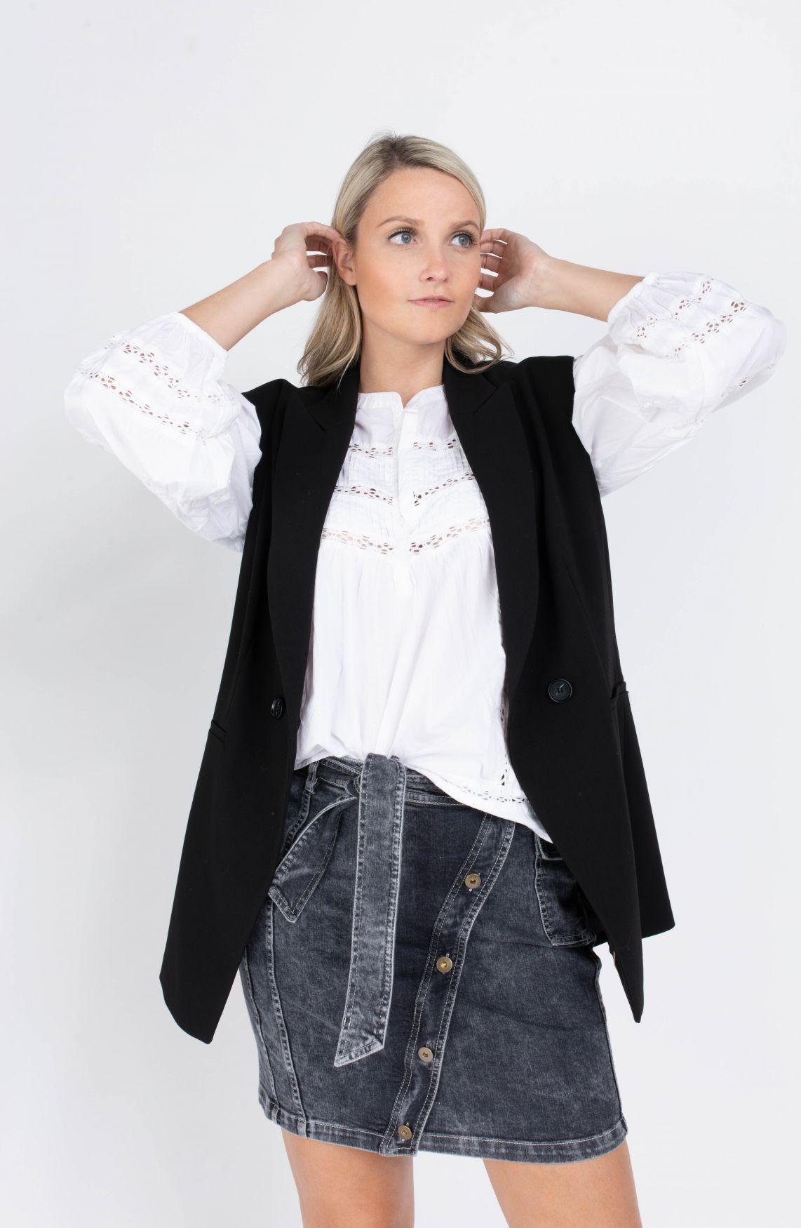 Moliin Copenhagen Dames Nora blouse Wit