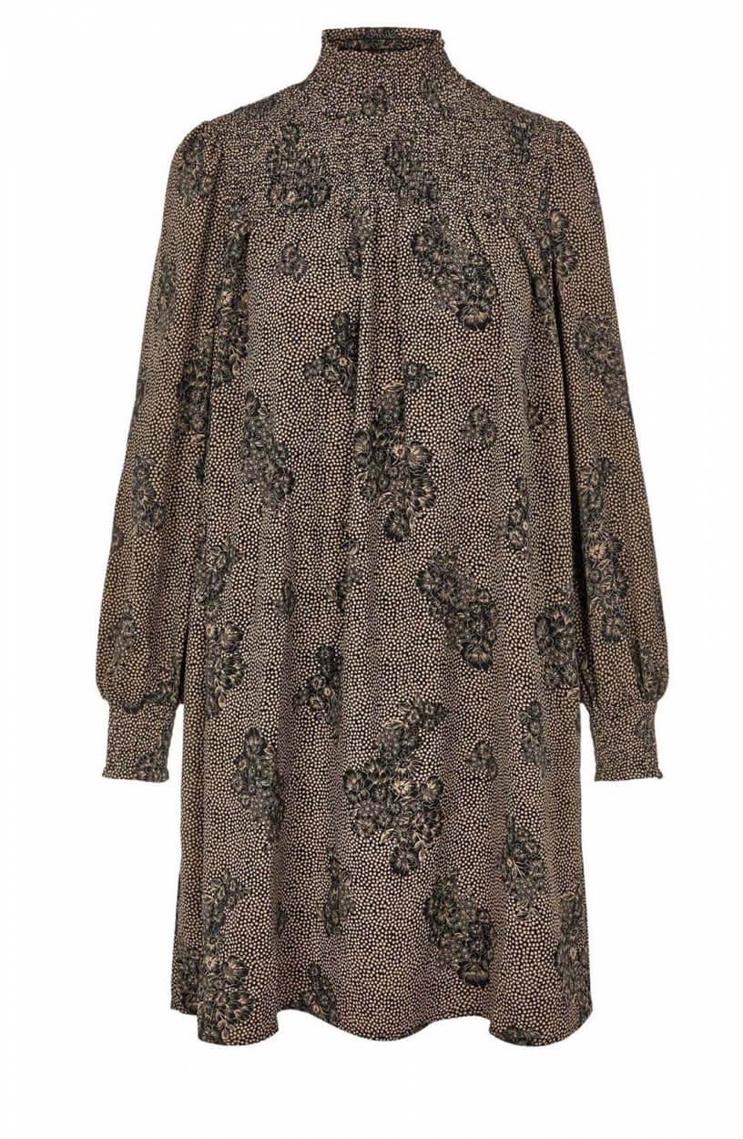 Object Dames Evelyn jurk Zwart