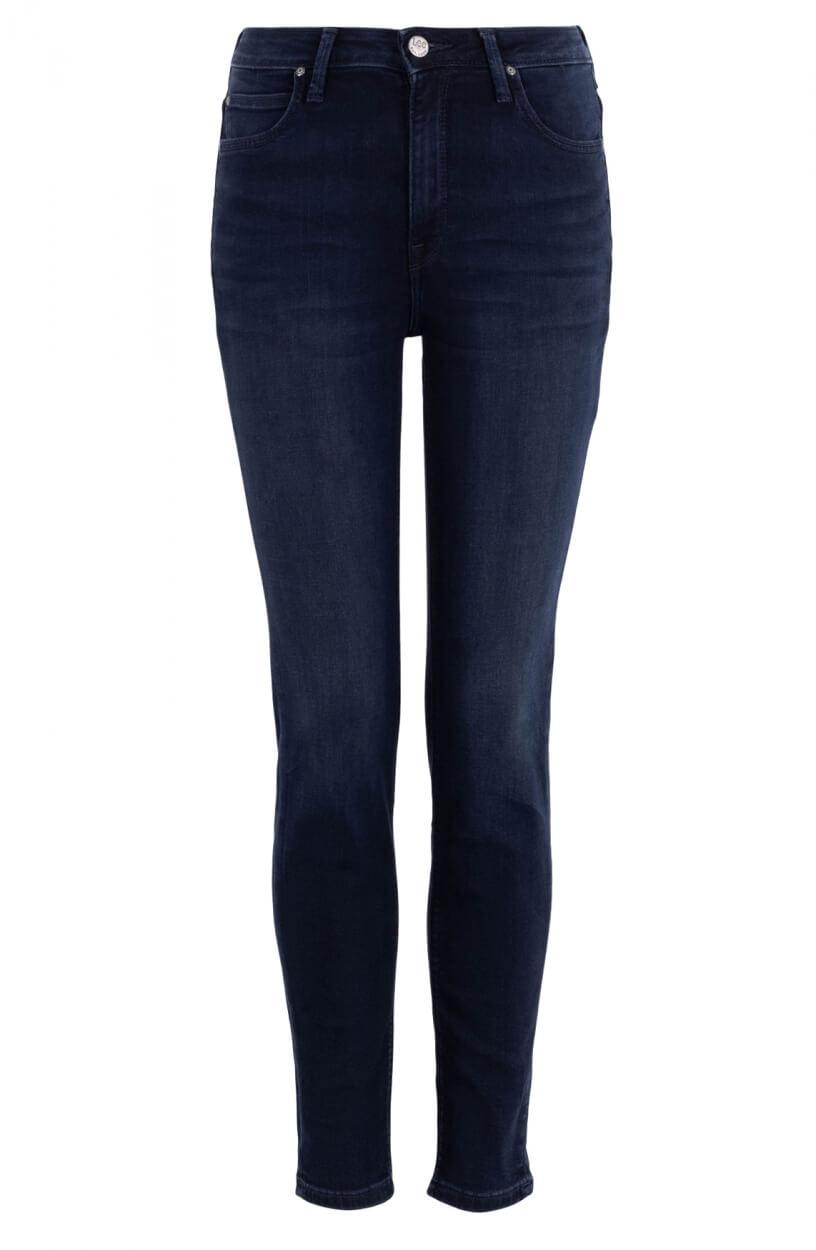 Lee Dames Scarlett High jeans Blauw