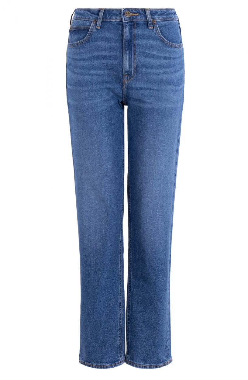 Lee Dames Carol Western jeans Blauw